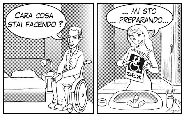 vignetta sul sesso e disabili