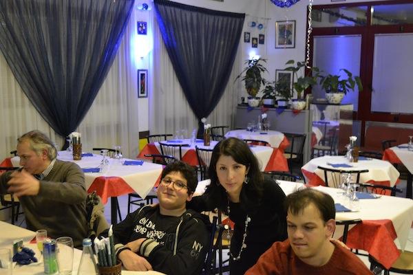 myriam e amici disabili