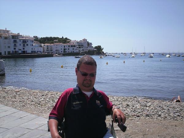 Foto di Stefano sul mare