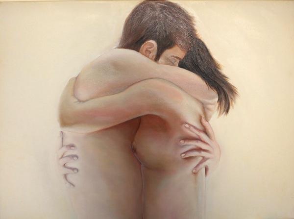 disegno di un abbraccio